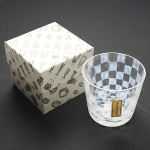 ガラス食器/大正浪漫硝子 そばちょこ 市松/廣田硝子_Image_3