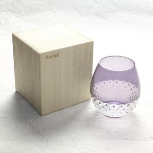グラス/花蕾 Karai 江戸切子 あられ 紫/廣田硝子_Image_3