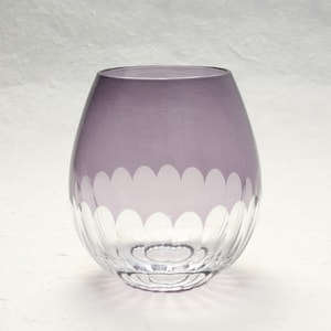 Edo kiriko / Kamaboko / Purple / Karai Series / Hirota Glass