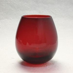 グラス/花蕾 Karai 江戸硝子 赤/廣田硝子