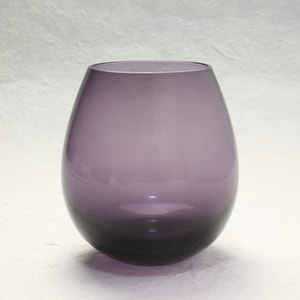 Edo glasses / Purple / Karai Series / Hirota Glass