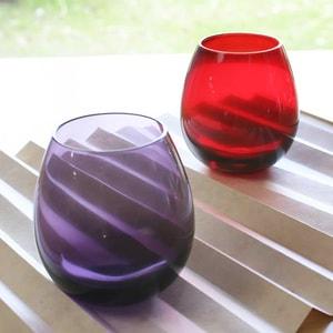 Edo glasses / Purple / Karai Series / Hirota Glass_Image_2