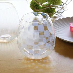 グラス/花蕾 Karai 大正浪漫硝子 市松/廣田硝子_Image_2