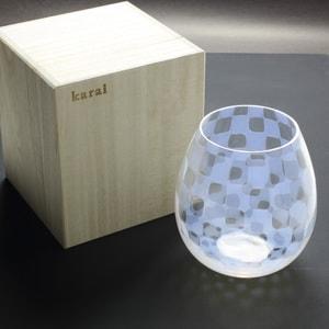 グラス/花蕾 Karai 大正浪漫硝子 市松/廣田硝子_Image_3