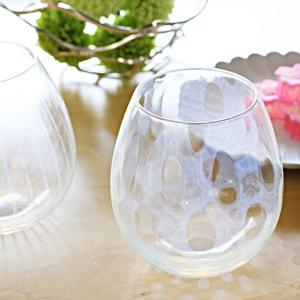 Taisho Roman glasses / Mizutama / Karai Series / Hirota Glass_Image_2