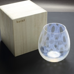 グラス/花蕾 Karai 大正浪漫硝子 水玉/廣田硝子_Image_3