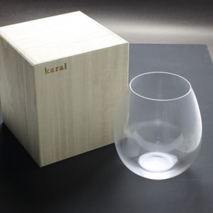 Edo glasses / Clear / Karai Series / Hirota Glass_Image_3