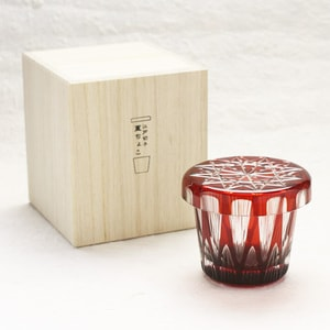 Futa Choko / Small glass with a lid / Tsurara / Hirota Glass_Image_3