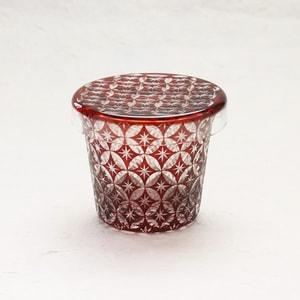 Futa Choko / Small glass with a lid / Shippo  / Hirota Glass_Image_1