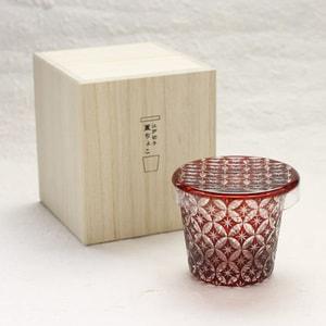 Futa Choko / Small glass with a lid / Shippo  / Hirota Glass_Image_3
