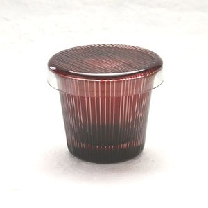 Futa Choko / Small glass with a lid/ Takijima  / Hirota Glass