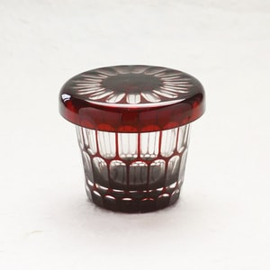 Futa Choko (Small glass with a lid) / Kamaboko  / Hirota Glass