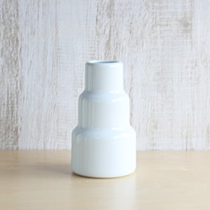 Flower Vase/ S/ White/ S&B Series/1616 arita japan