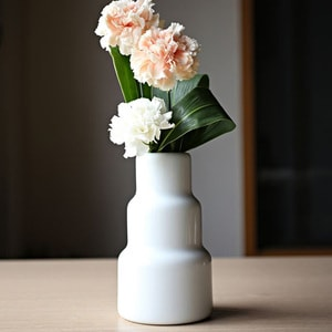 Flower Vase/ S/ White/ S&B Series/1616 arita japan_Image_1