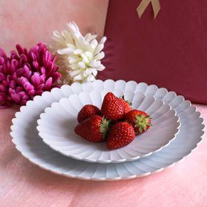 お皿/TYシリーズ Palace Plate 160+220 大、小 計2枚セット  TYパレスプレート グレーホワイト/1616 arita japan_Image_1