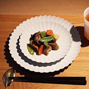 お皿/TYシリーズ Palace Plate 160+220 大、小 計2枚セット  TYパレスプレート グレーホワイト/1616 arita japan_Image_2