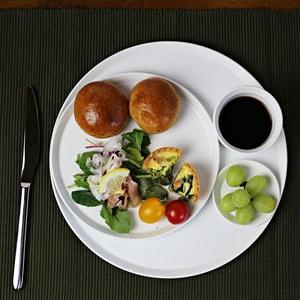 お皿/TYシリーズ Round Plate 80 ホワイト/1616 arita japan_Image_2