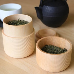 Tea Canister / KAMA / Plain / Karmi Series / Gato Mikio Store_Image_2