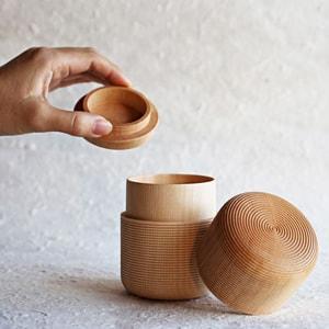 Tea Canister / TAWARA / Plain / Karmi Series / Gato Mikio Store_Image_1