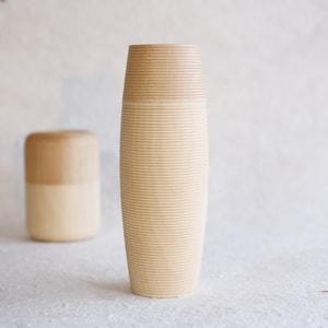 Tea Canister / TARU / Plain / Karmi Series / Gato Mikio Store_Image_1