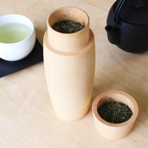 Tea Canister / TARU / Plain / Karmi Series / Gato Mikio Store_Image_2