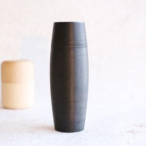 Tea Canister / TARU / Black / Karmi Series / Gato Mikio Store_Image_1