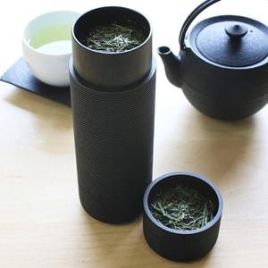 Tea Canister / SANE / Black/ Karmi Series /Gato Mikio Store_Image_2