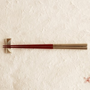 Chopsticks / Red / RIN Series / Gato Mikio Store