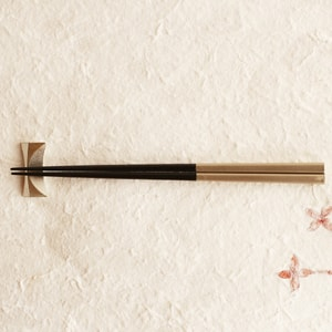 Chopsticks/ Black/ RIN Series/ Gato Mikio Store