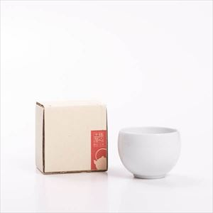 カップ/ティーカップ まる 白/鋳心ノ工房
