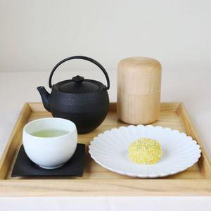 ほっこりおうち茶房セット (茶筒/ティーポット/ソーサー/ティーカップ/お皿)_Image_1