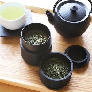 Tea Canister / KAMA / Black / Karmi Series / Gato Mikio Store_Image_2