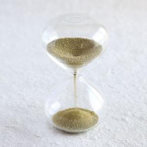 砂時計/スナ式トケイ 丸型 1分間 金色/廣田硝子_Image_1