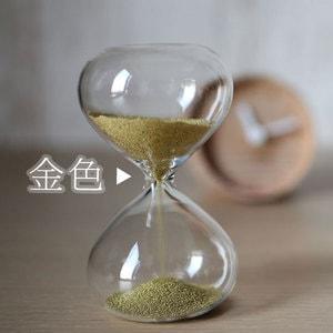 砂時計/スナ式トケイ 丸型 1分間 金色/廣田硝子_Image_2