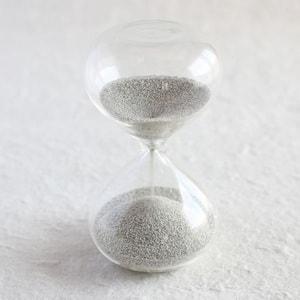 砂時計/スナ式トケイ 丸型 2分間 銀色/廣田硝子_Image_1