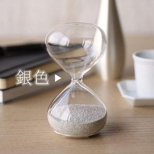 砂時計/スナ式トケイ 丸型 2分間 銀色/廣田硝子_Image_2