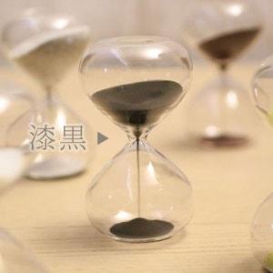 砂時計/スナ式トケイ 丸型 3分間 漆黒/廣田硝子_Image_2