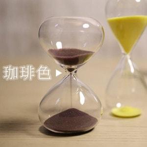 砂時計/スナ式トケイ 丸型 4分間 珈琲色/廣田硝子_Image_2