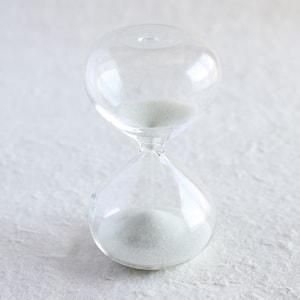 砂時計/スナ式トケイ 丸型 4分間 純白/廣田硝子_Image_1