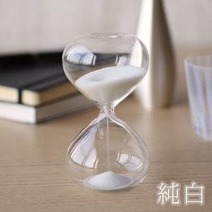 砂時計/スナ式トケイ 丸型 4分間 純白/廣田硝子_Image_2