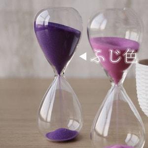 砂時計/スナ式トケイ スリム 5分間 ふじ色/廣田硝子_Image_2