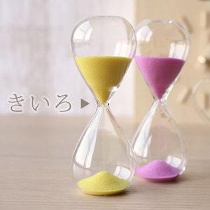 砂時計/スナ式トケイ スリム 5分間 黄色/廣田硝子_Image_2