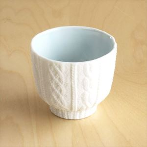 Teacup/ Knit/ Blue/ Trace Face Series