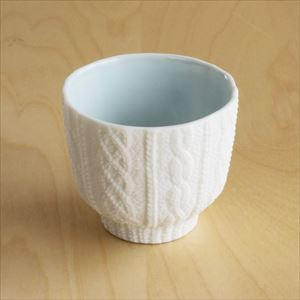 Teacup / Knit / Blue / Trace Face Series_Image_1