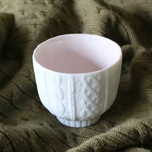 Teacup/ Knit/ Pink/ Trace Face Series_Image_2