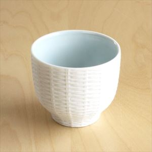 Teacup / Rattan Basket / Blue / Trace Face series / CEMENT PRODUCE DESIGN