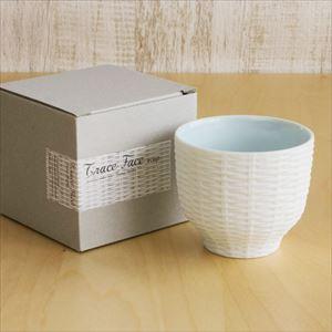 カップ/Trace Face ラタン 空色 ホワイト/セメントプロデュースデザイン_Image_3