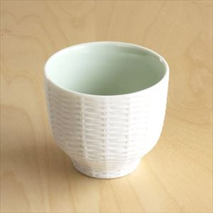 Teacup / Rattan Basket / Green / Trace Face series / CEMENT PRODUCE DESIGN