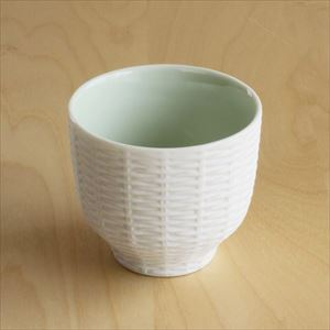 Teacup / Rattan Basket / Green / Trace Face series / CEMENT PRODUCE DESIGN_Image_1