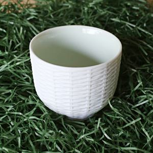 Teacup / Rattan Basket / Green / Trace Face series / CEMENT PRODUCE DESIGN_Image_2
